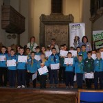 Spring in our Scouting Step at Awards Night