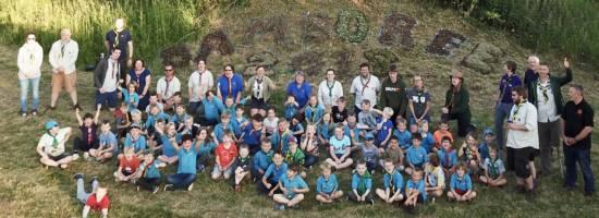 Damboree 2018 – Beavers in Tents