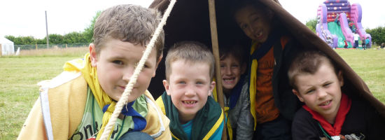 Beavers and Cubs have a Wild Adventure