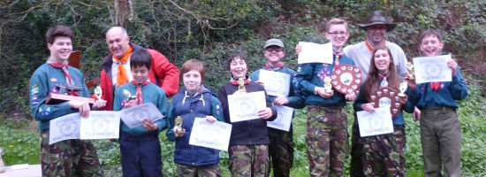 Horsford On Target at Master at Arms Competion