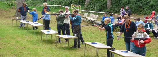 Shooting Success at County Competition