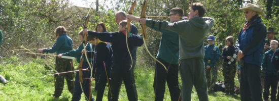 Old Costessey Hit the Target at Archery Competition