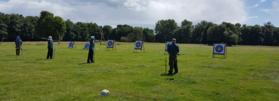 District Success in County Archery Competition