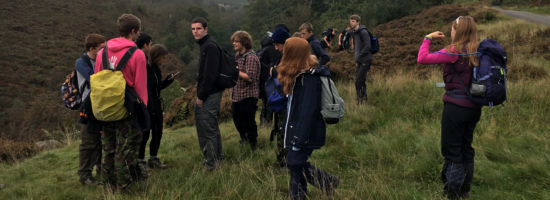 Explorers & Network Members in Derbyshire