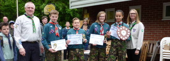 Arianna's Success at District Shooting Competition