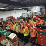 Explorers at the Foodbank
