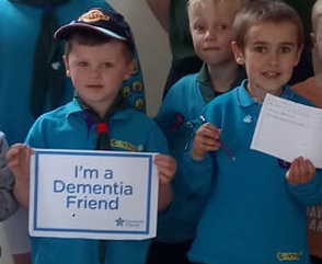 25th Norwich Beavers are now dementia friends.